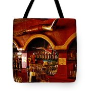 The Cowboy Club Bar in Sedona Arizona Tote Bag by David Patterson