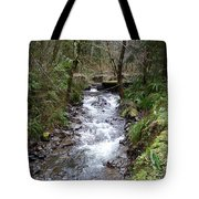 The Creek Tote Bag by Laurie Kidd