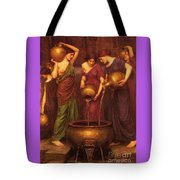 The Danaides Tote Bag by Pg Reproductions