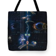 The Danse Macabre Tote Bag by Patrick Anthony Pierson