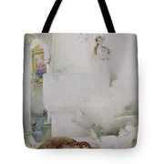 The Death Of The Virgin Tote Bag by Guillaume Dubufe