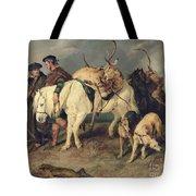 The Deerstalkers Return Tote Bag by Sir Edwin Landseer