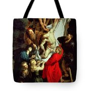 The Descent From The Cross Tote Bag by Peter Paul Rubens