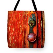The Door Handle  Tote Bag by Tara Turner