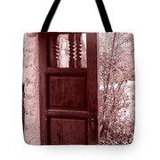 The Door Tote Bag by Wayne Potrafka
