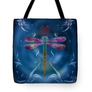 The Dragonfly Effect Tote Bag by Bedros Awak