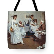 The Dress Rehearsal Tote Bag by Albert Chevallier Tayler