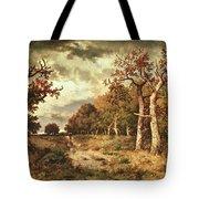 The Edge Of The Forest Tote Bag by Narcisse Virgile Diaz de la Pena
