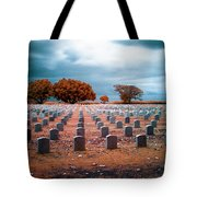 The End 2 Tote Bag by Skip Nall