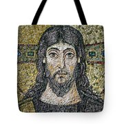 The Face Of Christ Tote Bag by Byzantine School