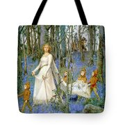 The Fairy Wood Tote Bag by Henry Meynell Rheam