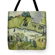 The Farm In Summer Tote Bag by Vincent van Gogh