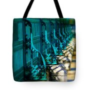 The Fence Tote Bag by Perry Webster