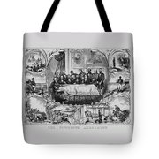 The Fifteenth Amendment  Tote Bag by War Is Hell Store