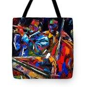 The First Set Tote Bag by Debra Hurd