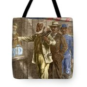 The First Vote 1867 Tote Bag by Photo Researchers