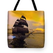 The Flying Dutchman Tote Bag by Corey Ford