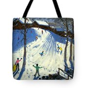 The Footbridge Tote Bag by Andrew Macara