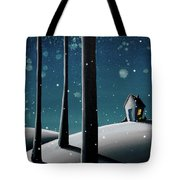 The Frost Tote Bag by Cindy Thornton