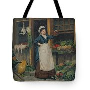 The Fruit Seller Tote Bag by Victor Gabriel Gilbert
