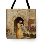 The Furniture Maker Tote Bag by Ludwig Deutsch