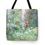 The Garden At Bougival Tote Bag by Berthe Morisot