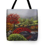 The Garden Of Koan Tote Bag by Laurie Golden
