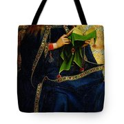 The Ghent Altarpiece The Virgin Mary Tote Bag by Jan and Hubert Van Eyck