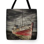 The Ghost Ship Tote Bag by Evelina Kremsdorf