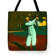 The Golfer - 20130208 Tote Bag by Wingsdomain Art and Photography