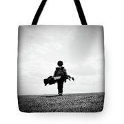 The Golfer Tote Bag by Shawn Wood