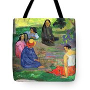 The Gossipers Tote Bag by Paul Gauguin