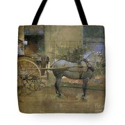 The Governess Cart Tote Bag by Joseph Crawhall