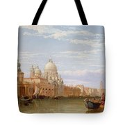 The Grand Canal - Venice Tote Bag by George Clarkson Stanfield