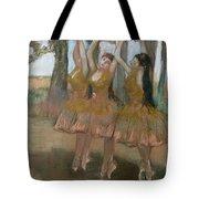 The Greek Dance Tote Bag by Edgar Degas