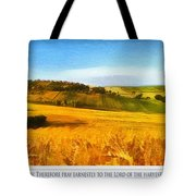 The Harvest Is Plentiful Tote Bag by Dale Jackson
