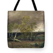 The Heath In A Storm Tote Bag by Valentin Ruths