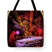 The Hermit Tote Bag by John Edwards