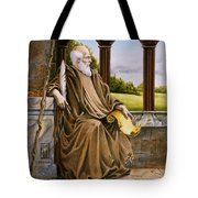 The Hermit Nascien Tote Bag by Melissa A Benson