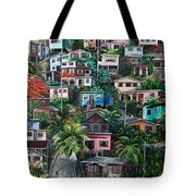 The Hill     Trinidad  Tote Bag by Karin  Dawn Kelshall- Best