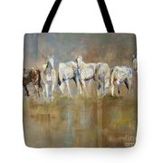 The Horizon Line Tote Bag by Frances Marino