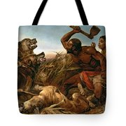 The Hunted Slaves Tote Bag by Richard Ansdell