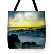 The Infinite Spirit  Tranquil Island Of Twilight Maui Hawaii  Tote Bag by Sharon Mau