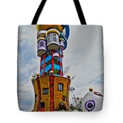 The Kuchlbauer Tower Tote Bag by Juergen Weiss
