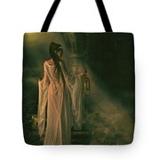The Lady of Shalott Tote Bag by Shanina Conway