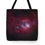 The Lagoon Nebula Tote Bag by Robert Gendler