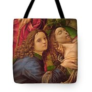 The Lamentation Of Christ Tote Bag by Capponi