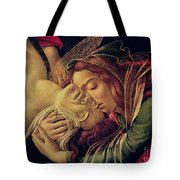 The Lamentation Of Christ Tote Bag by Sandro Botticelli