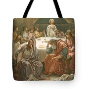 The Last Supper Tote Bag by John Lawson