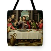The Last Supper Tote Bag by Vicente Juan Macip